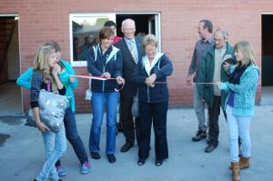 Nieuwe jeugdlokalen van Chiro Sint-Joris 't Leitje af