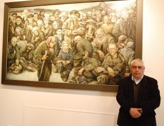 Siberische realist Konstantin Dverin in DEVE Gallery
